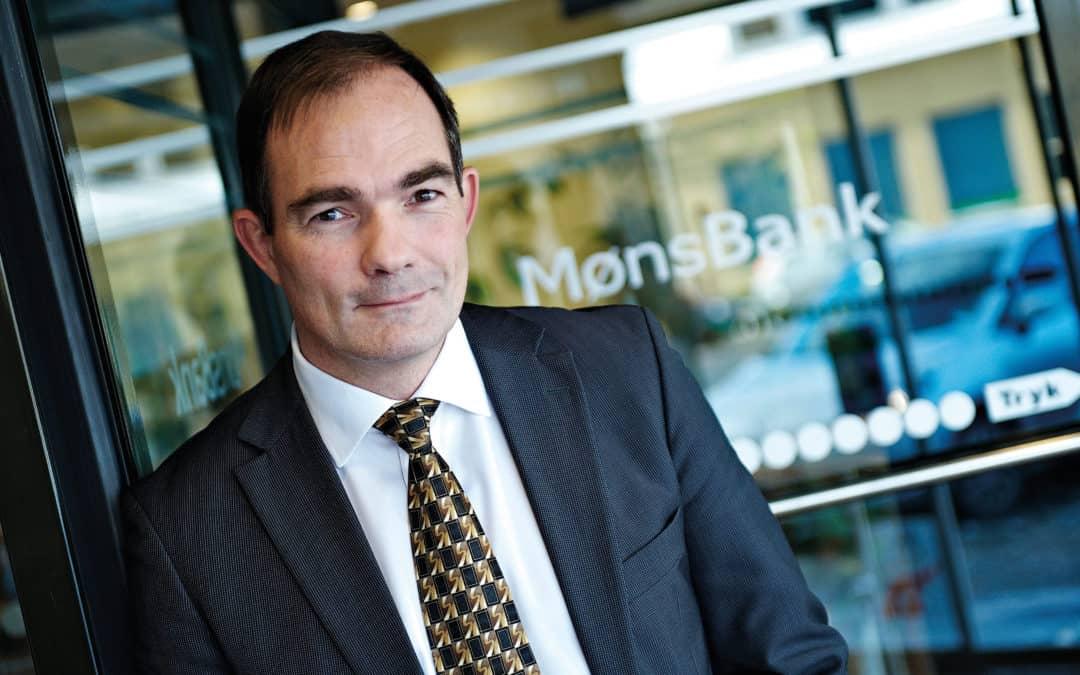 Tilfredsstillende halvår i Møns Bank