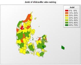 7 ud af 10 villaer i Vordingborg sælges med nedslag i prisen