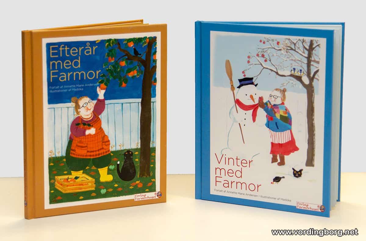 Farmorhuset fylder 10 år – og udgiver 2 bøger