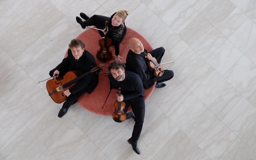 Arild Kvartetten spiller Beethoven i Nordfalsters Koncerthus