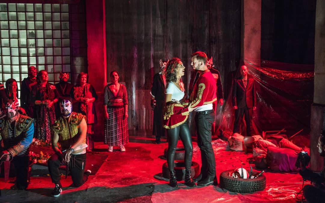 Rå og intens udgave af Carmen fra Den Jyske Opera i Vordingborg 3. november