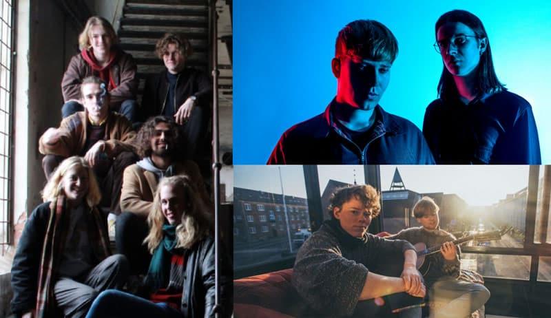 Tre unge, nye bands på SMALLSTARS d. 30. november 2018