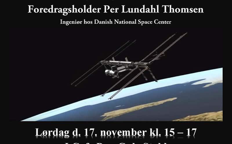 Spændende foredrag om Danmarks største rumprojekt – i Cafe Den Gule Stald