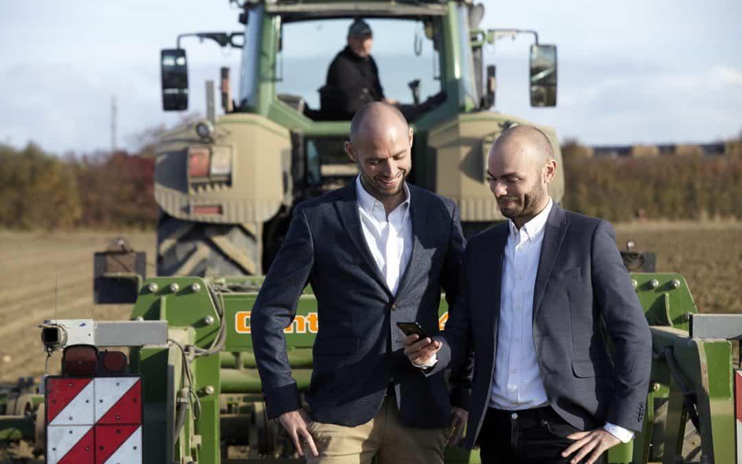 To lollandske landmandssønner lancerer landbrugs-app