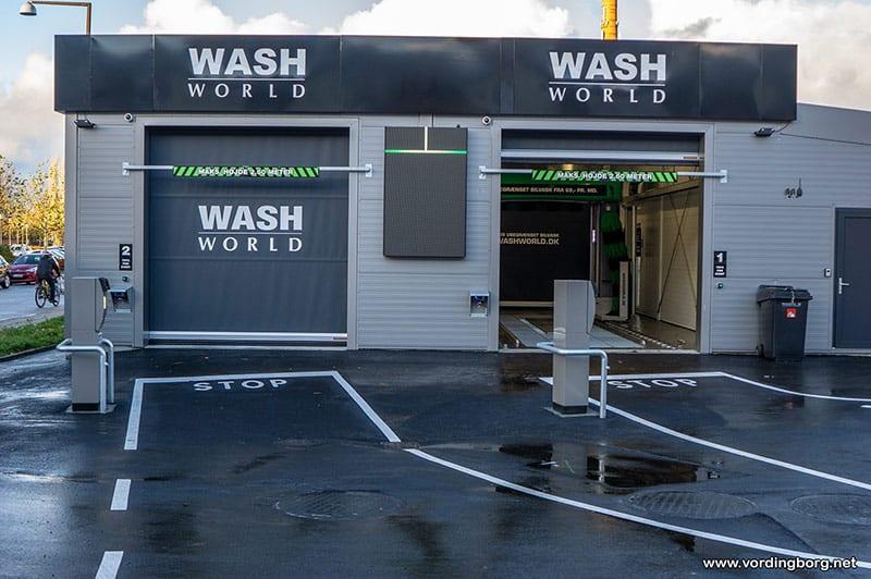 Åbningsfest: Gratis GULDvask til alle – Wash World åbner i Vordingborg