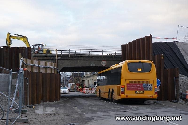 Orevej lukkes ved viadukten det meste af 2019
