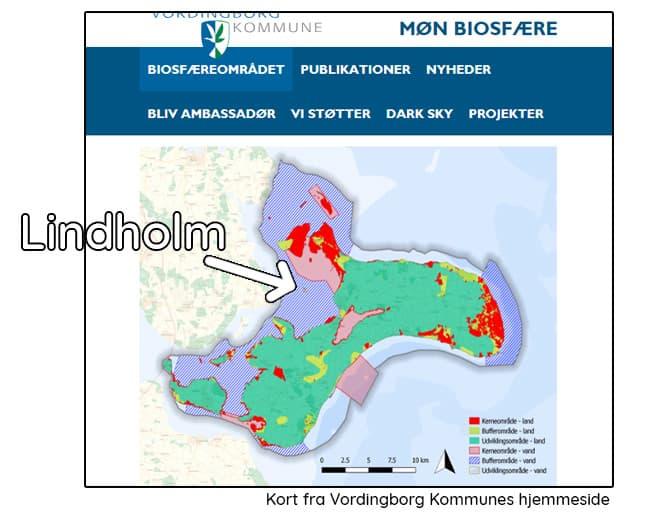 Lindholm – en del af Møn Biosfære