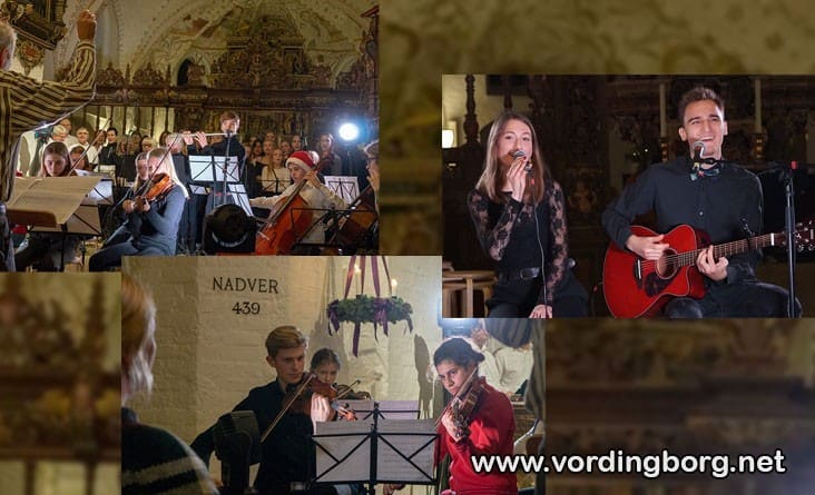 Julekoncert med Vordingborg Musikskole i Vor Frue Kirke, Vordingborg