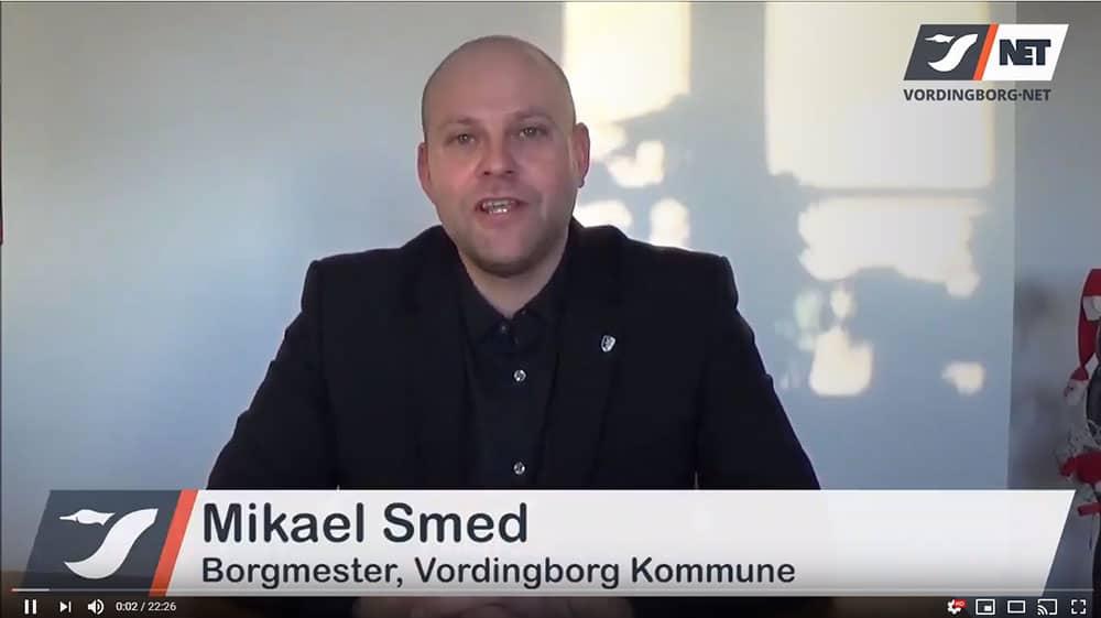 Nytårstale 2018/2019 ved borgmester Mikael Smed