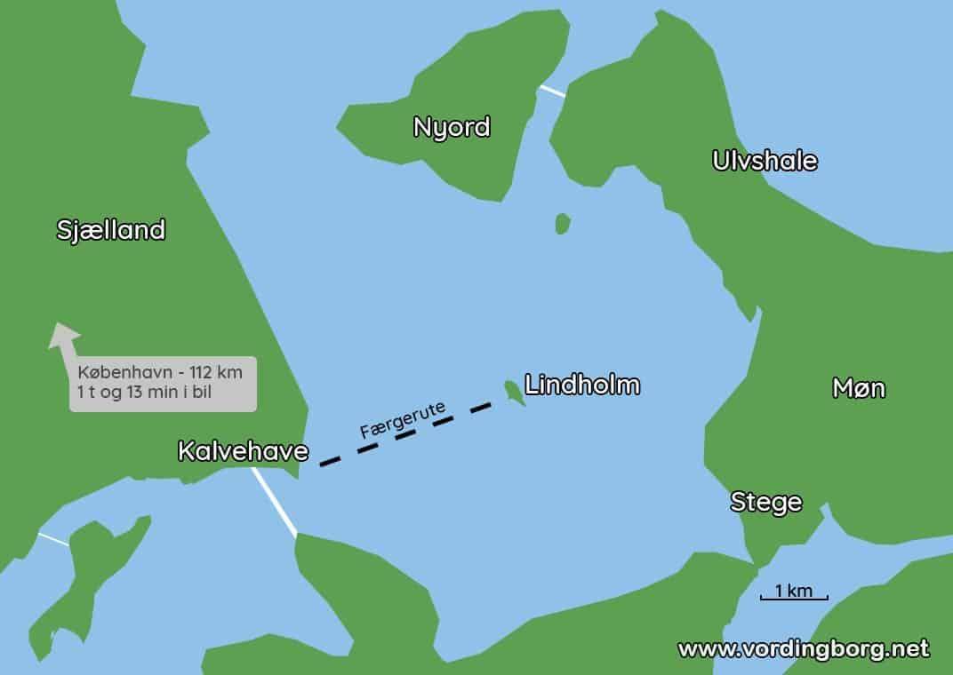 Lindholm – underskriftsindsamling og busrute til København