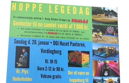 Hoppe Legedag i DGI Huset Vordingborg