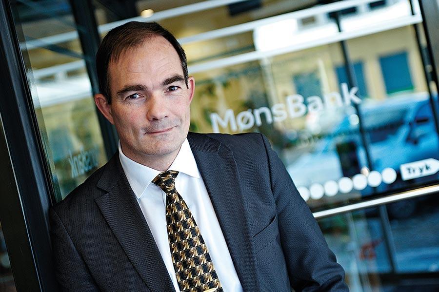Overskud over egne forventninger i Møns Bank