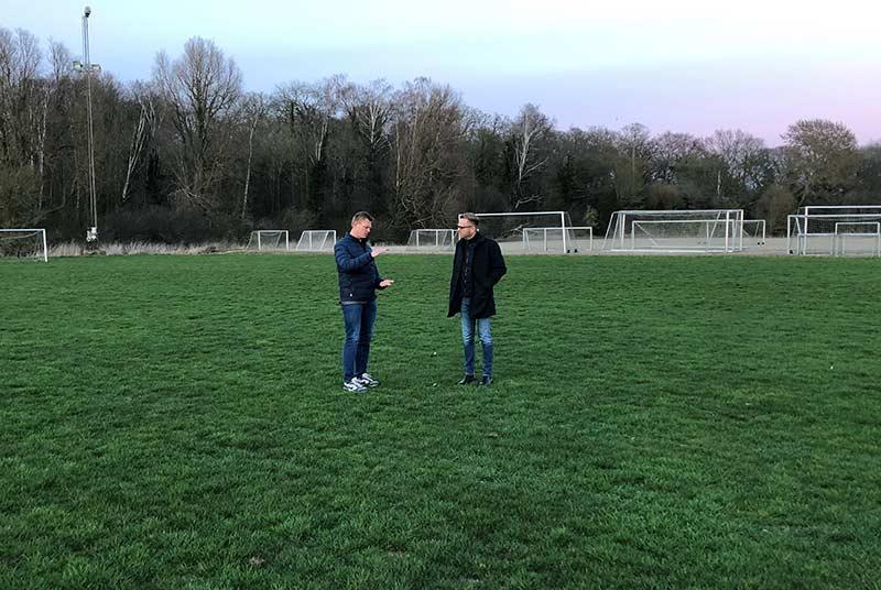 Tæt samarbejde om fodboldbanerne i Vordingborg