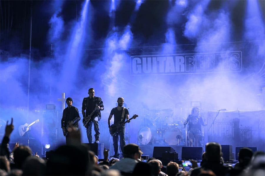 Guitar Rebels, The Volbeat Tribute, på STARS d. 8. marts 2019