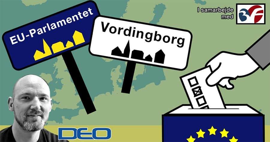 Europa-Parlamentsvalget – mød kandidaterne d. 27. marts 2019 i Vordingborg