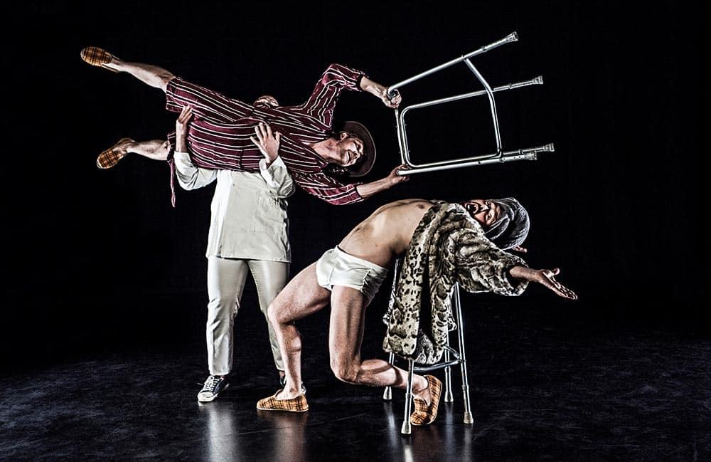 Jagten på Det Grå Guld – humoristisk og sprudlende fysisk teater der hylder alderdommen – Vordingborg Teater d. 28. april
