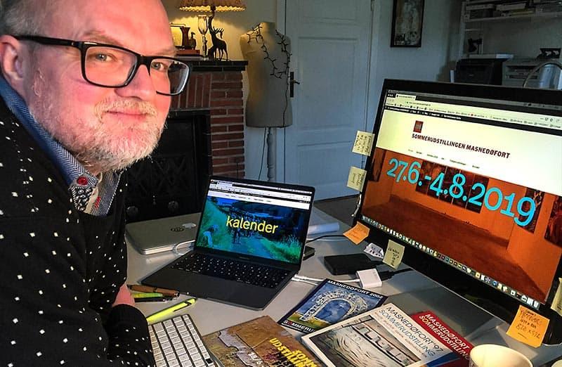 22 års sommerudstilling på Masnedøfort – nu på nettet