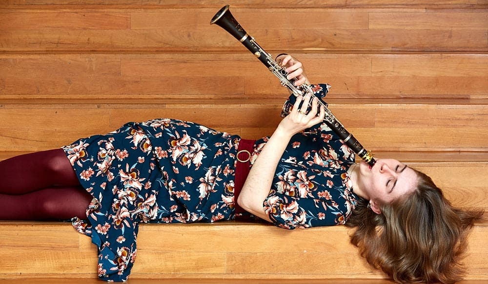 Torsdagskoncert med klarinet og klaver i Nordfalsters Koncerthus d. 2. maj 2019
