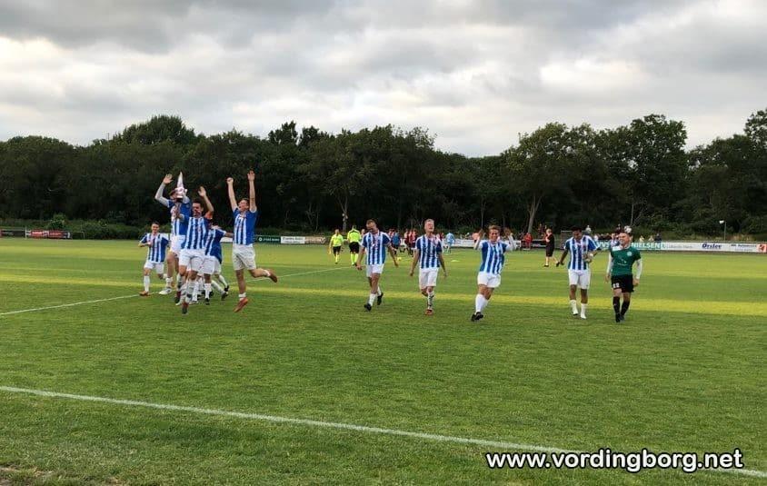 VIF sjællandsmestre endnu engang – 4-1 sejr til 2. hold senior