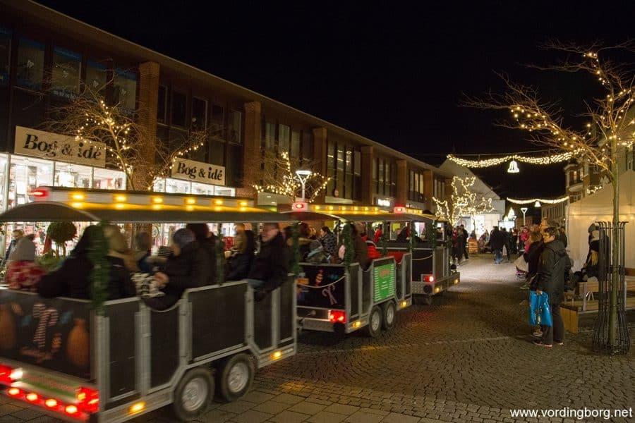 Juletræ og ny gadebelysning i Vordingborg 28. november 2014