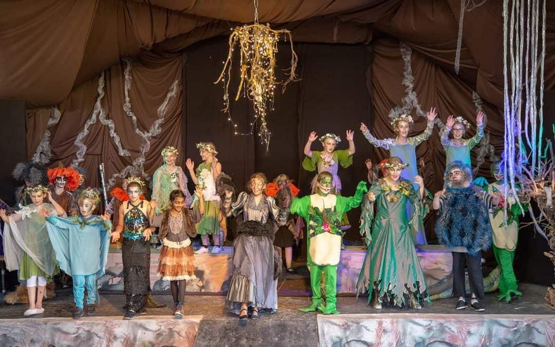 Sommeråbning og forpremiere i Teaterparken HC Andersens verden ved Præstø