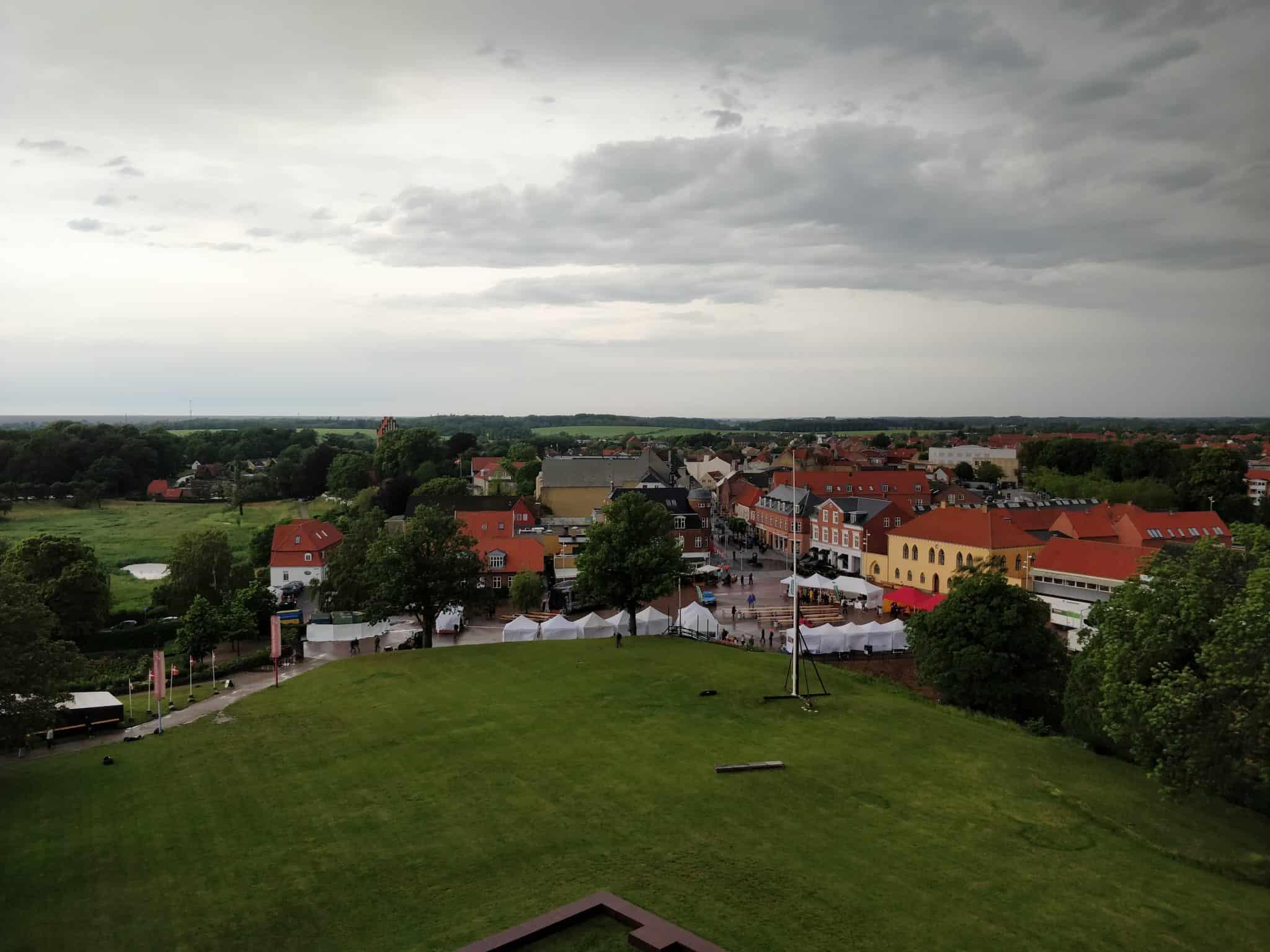 Opklaring over Vordingborg