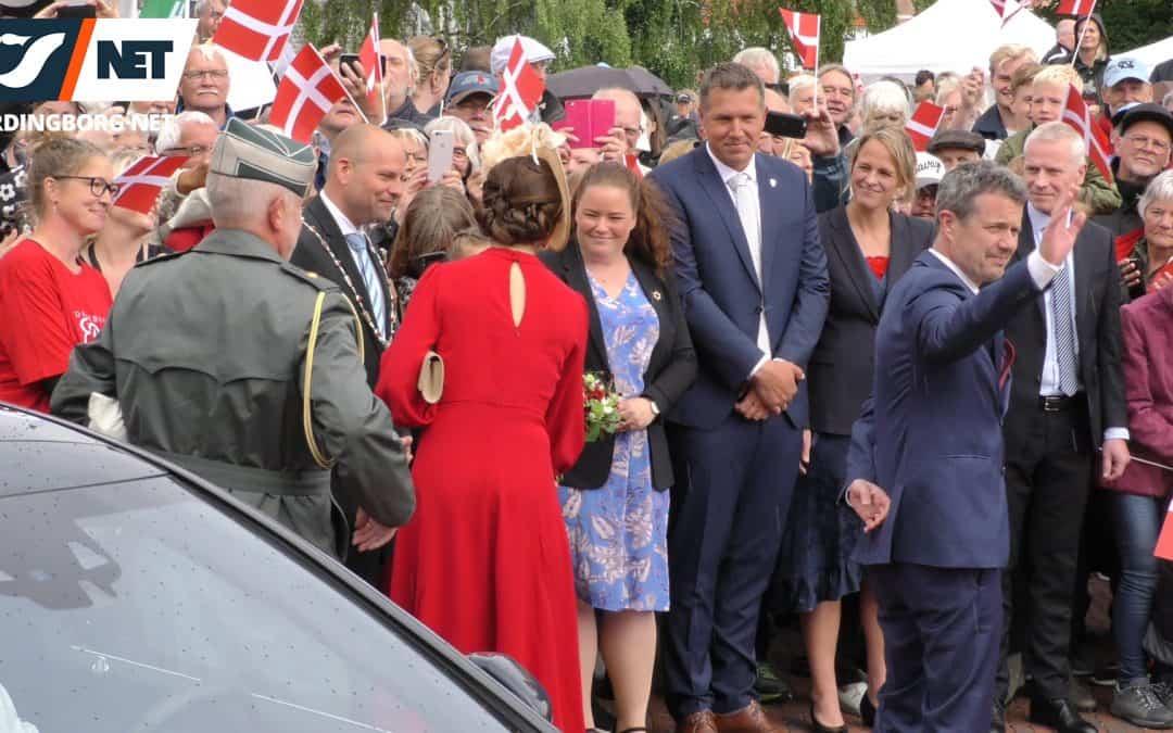 Sammendrag fra Kronprinsparrets besøg i Vordingborg