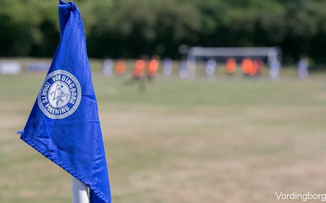 Vordingborg IF inviterer til åben fodbold fitness / motionsfodbold