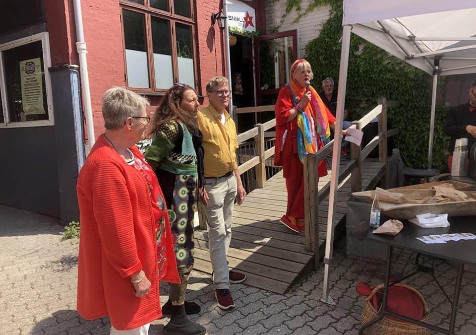 Danmarks længste kunstudstilling