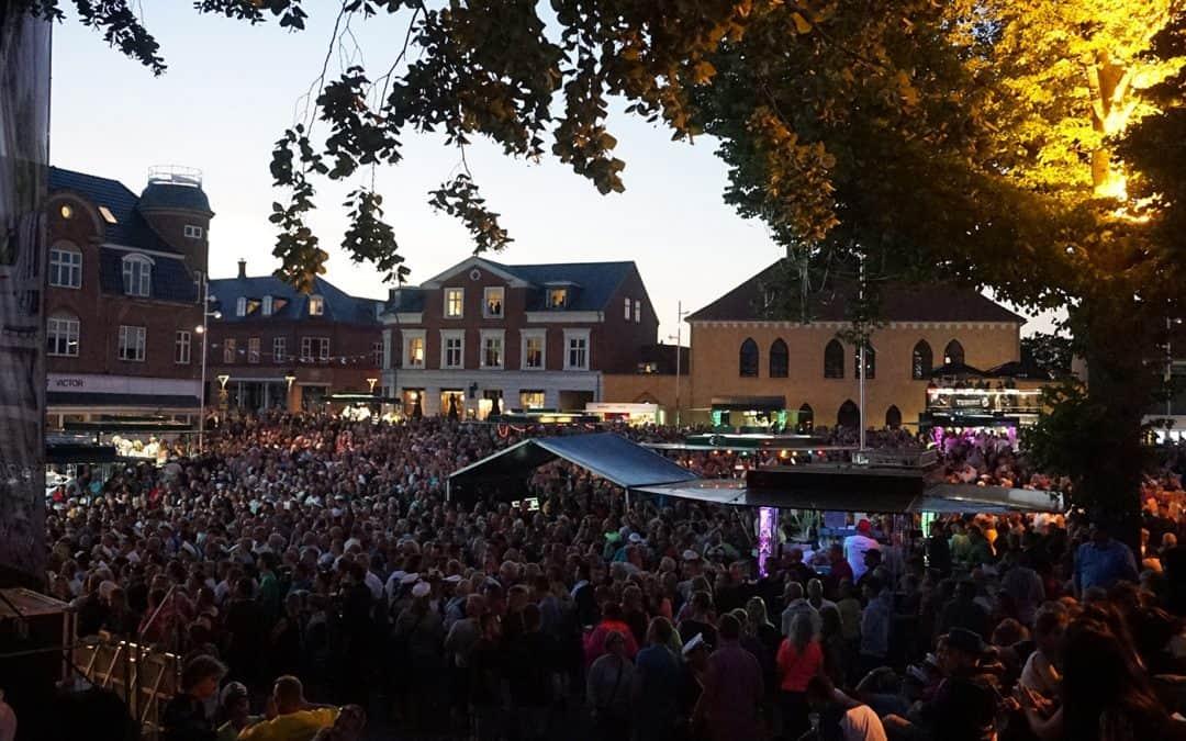 Vordingborg Festuge 2019 – op til 7 gratis koncerter om dagen – se det fulde musik-program