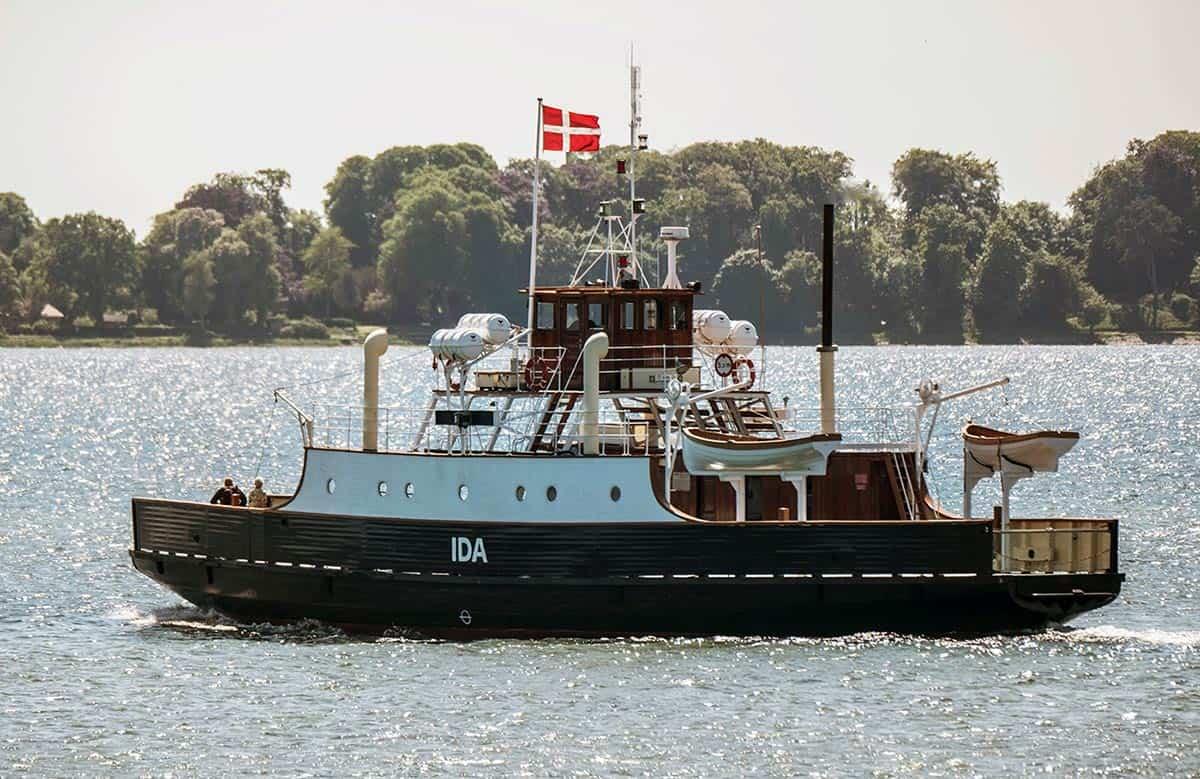 Flot sæson for Færgen Ida – har fragtet tusindvis af gæster