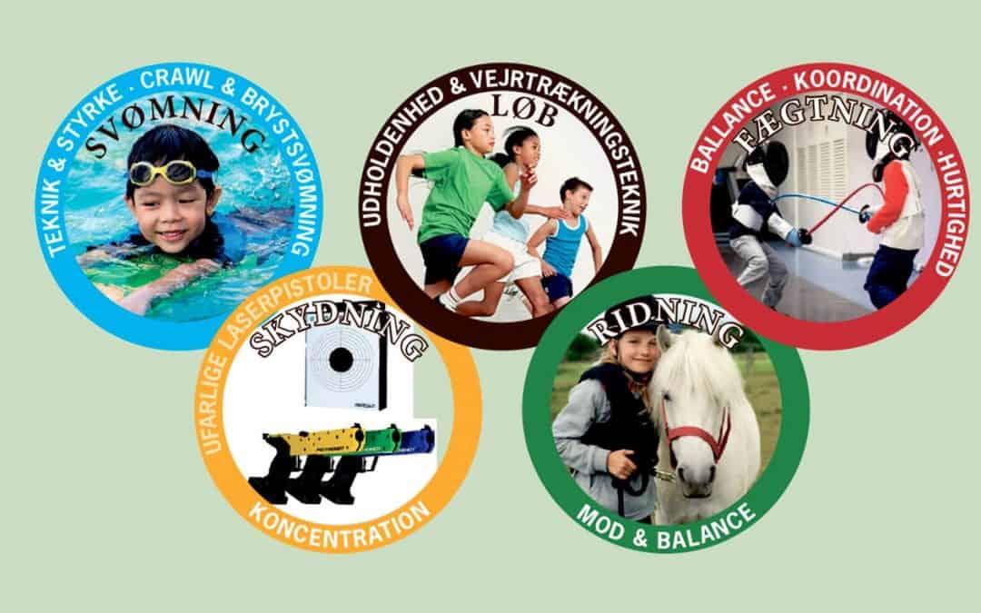 Mini 5-kamp leg og læring for 5 – 7 årige piger og drenge