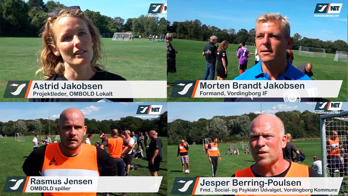 OMBOLD Lokalt – fodbold og fællesskab for udsatte og hjemløse – Video