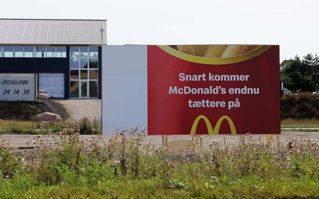 McDonald's bygger på afkørsel 41