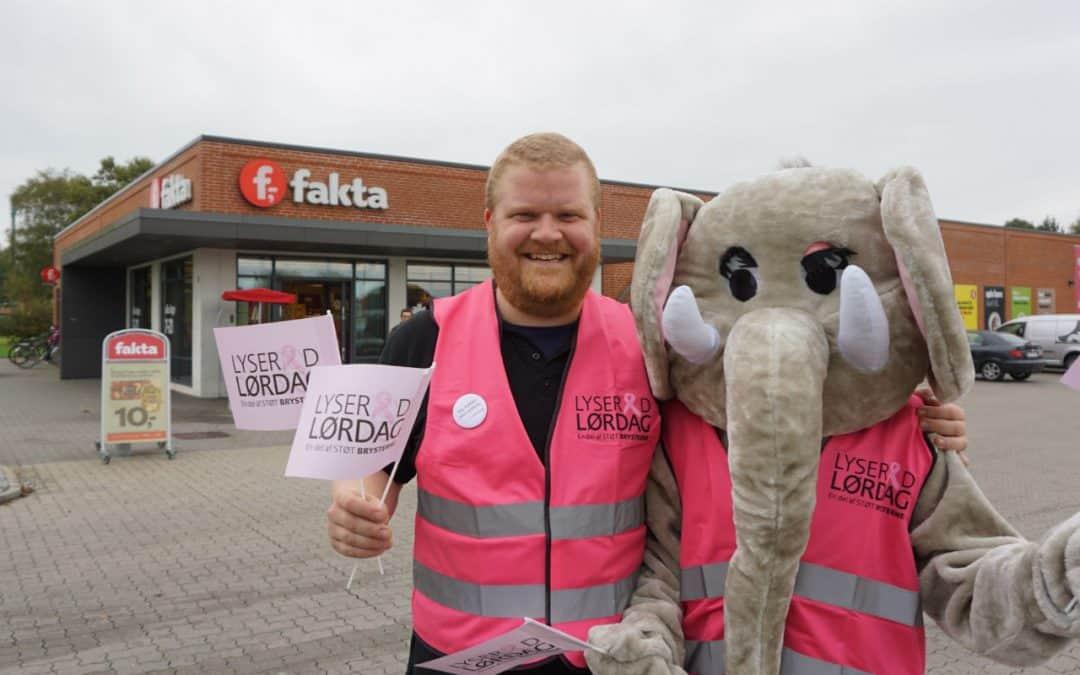 Fakta-Købmanden støtter brysterne i Vordingborg