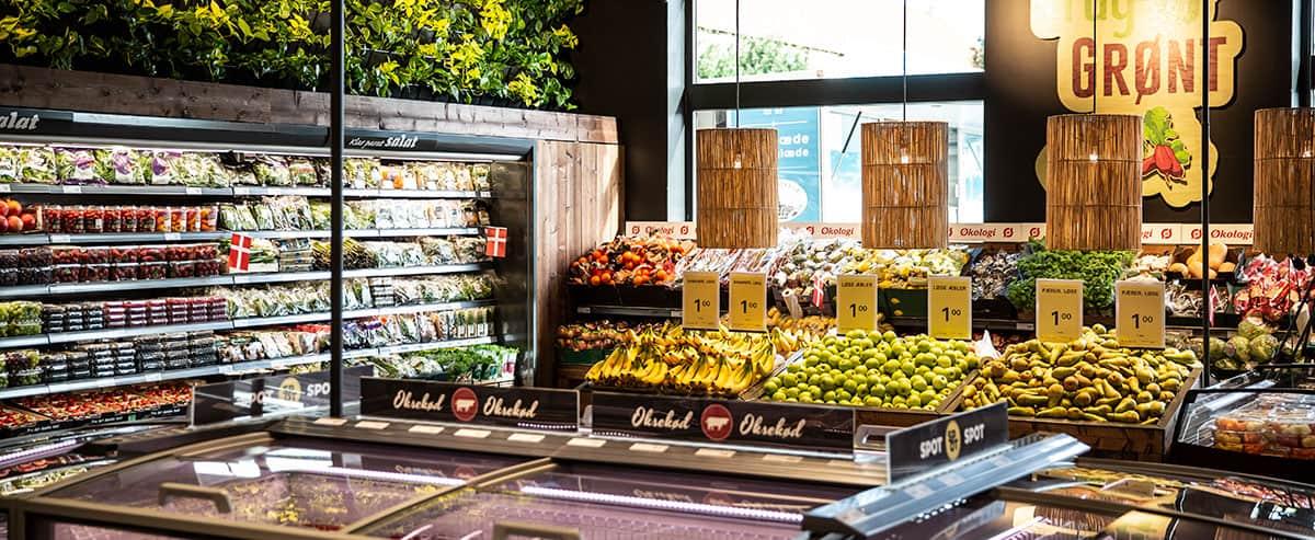 Netto i Ørslev er en del af et nyt butikskoncept, der har betydet mere salg af frugt og grønt