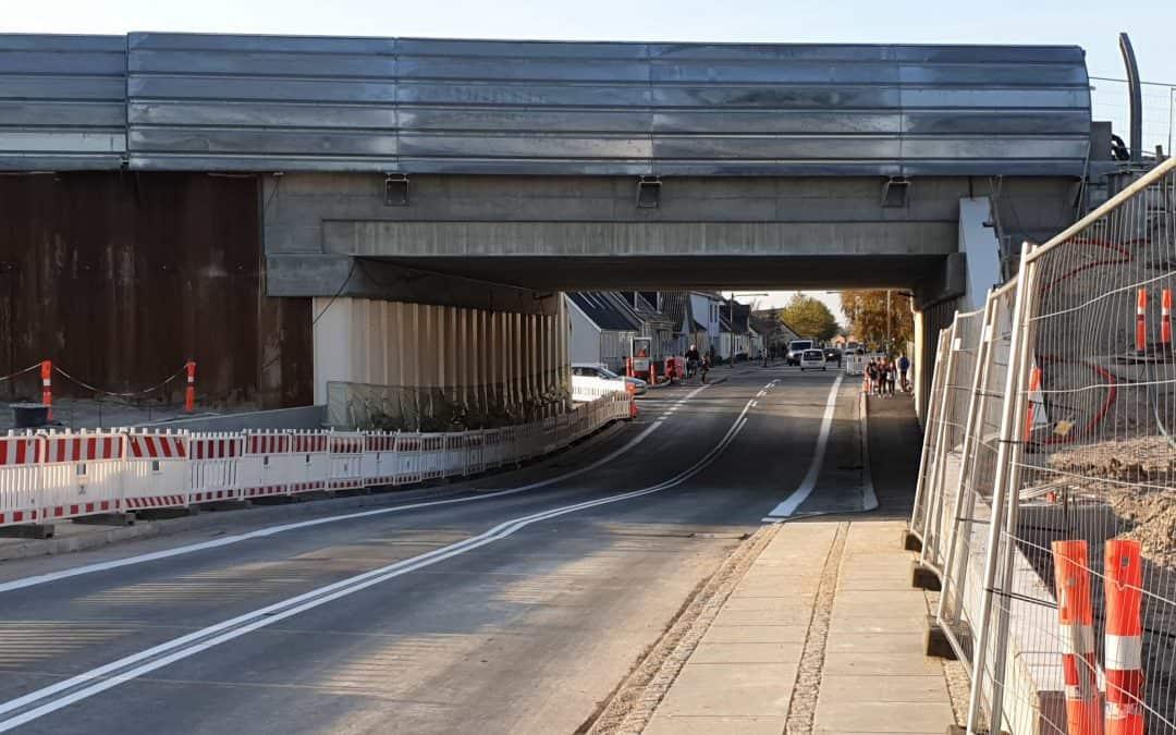 Viadukten til og fra Ore er åben