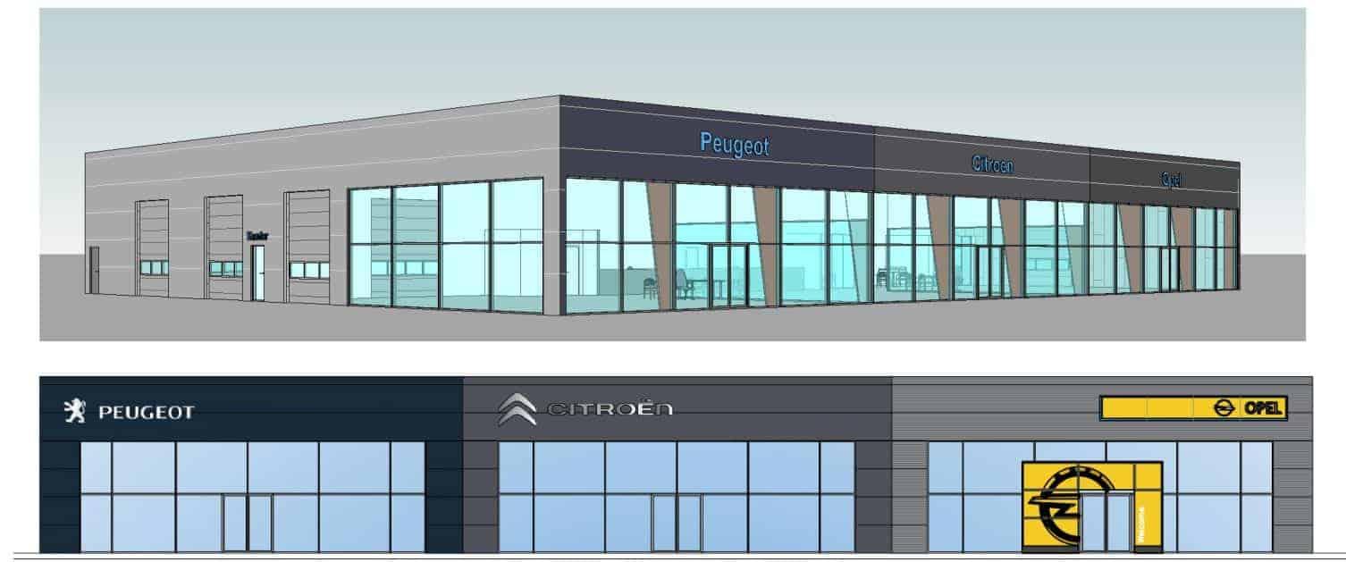 Bilforhandler åbner ny afdeling i Business Park  Vordingborg i oktober 2020