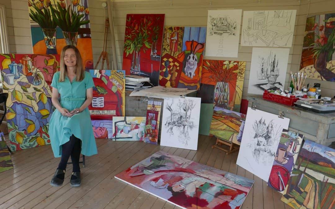 Mennesket bag penslen –   Billedkunstner Liza Krügermeier fortæller om sit liv som kunstner