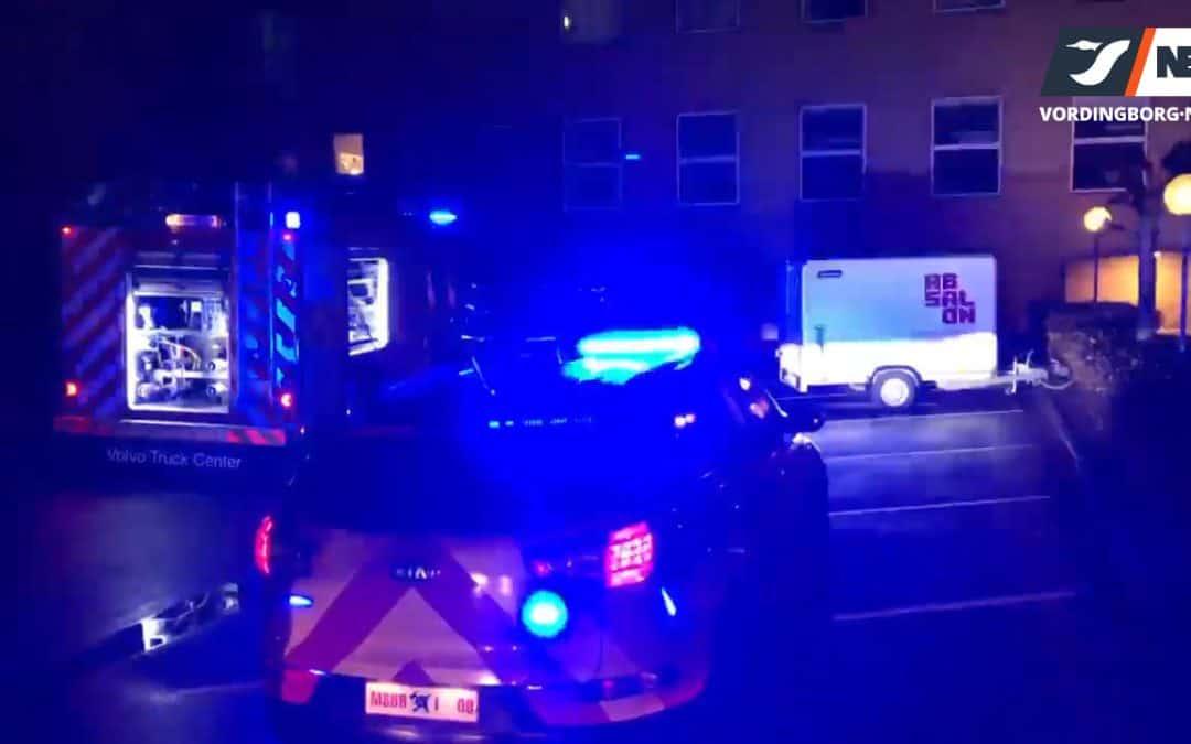 Mindre brand på Kuskevej i Vordingborg søndag aften [Video]
