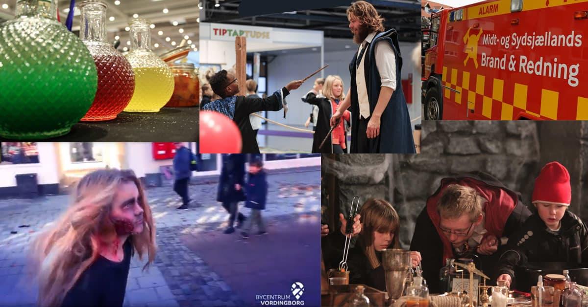 Masser af aktiviteter i efterårsferien i Vordingborg – magisk skole i Harry Potters univers, Horror – Run, Troldejagt m.m.