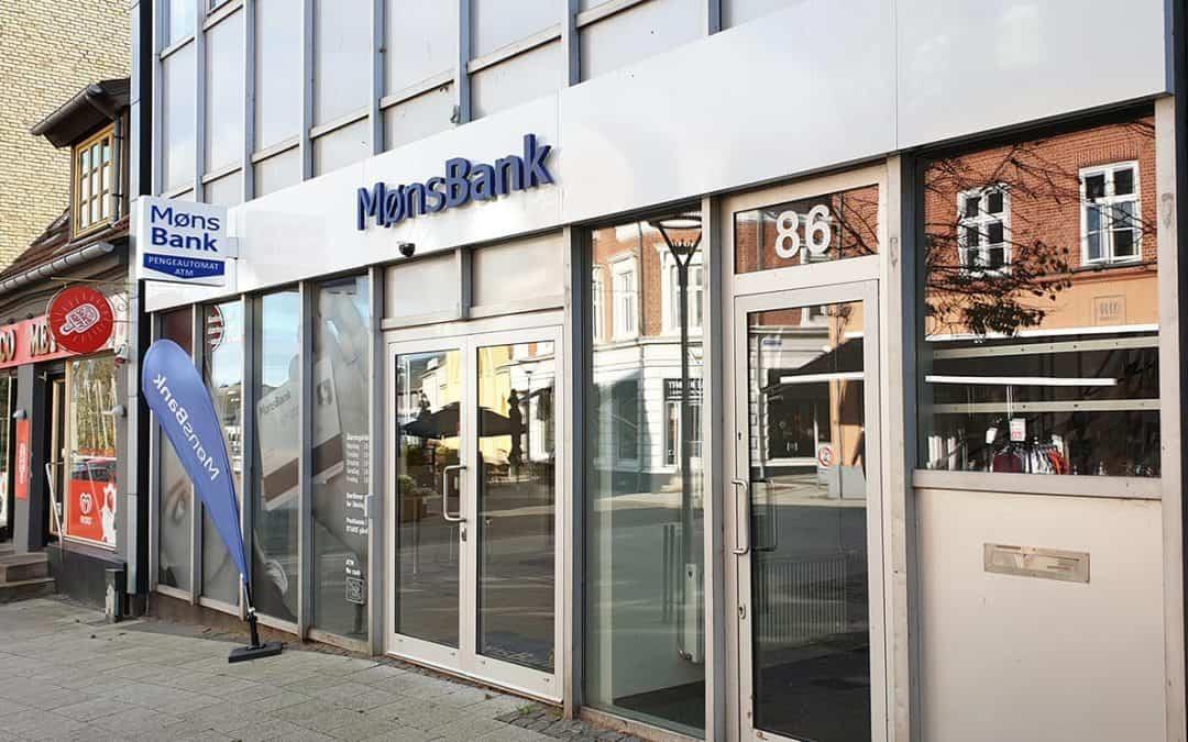 Møns Bank refunderer udgifter ved bankskifte – hvis du selv hjælper til