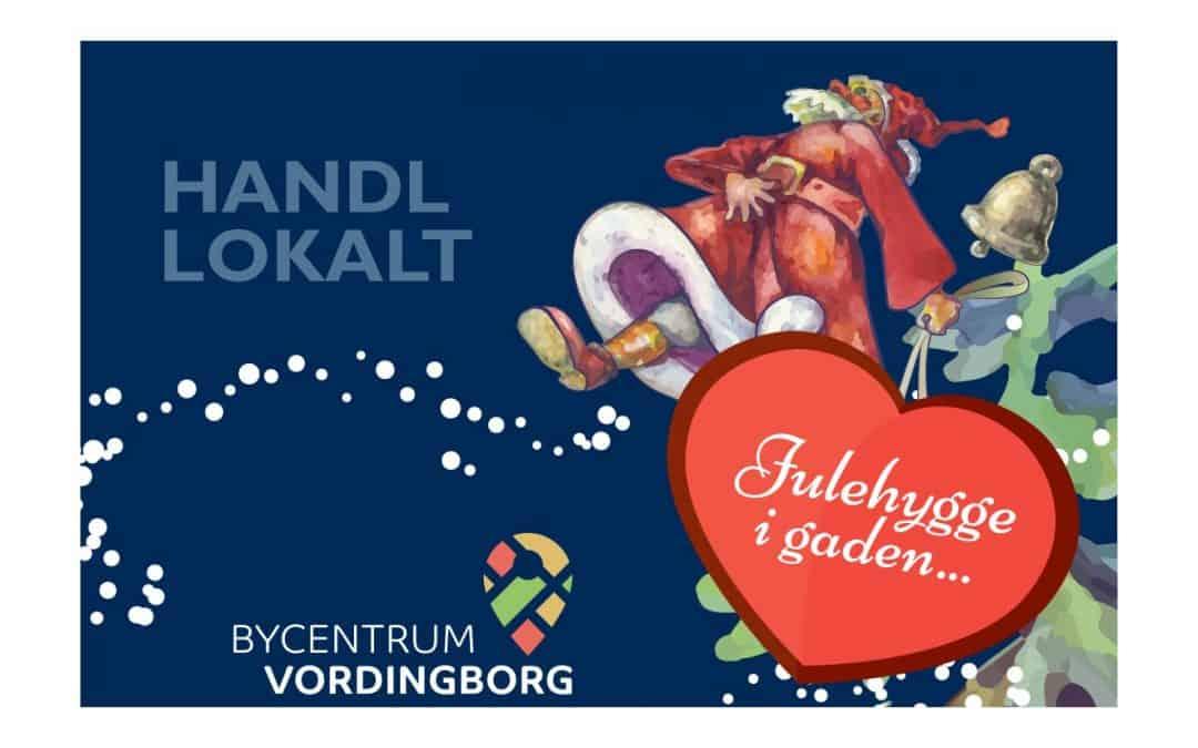 Julens åbningstider i Bycentrum Vordingborg 2019