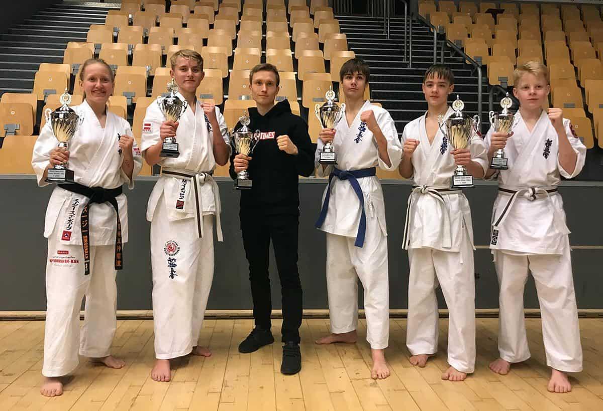 Masser af medaljer til Sydsjællands kampsports klub