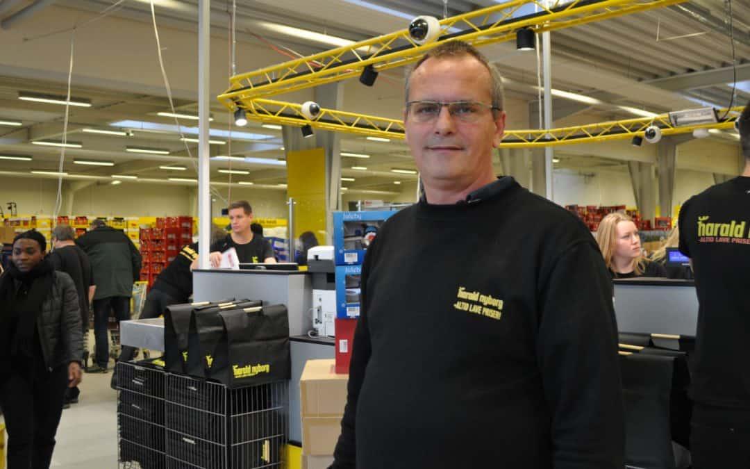 Harald Nyborg åbnede for fuld musik