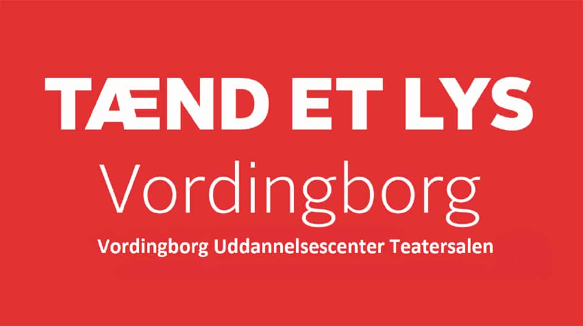 Se / Gense Knæk Cancer – Tænd et lys Vordingborg 2019 i Vordingborg Teatersal