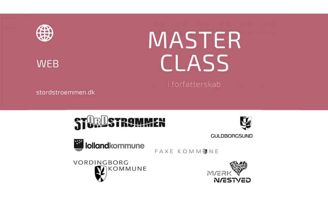 Masterclass i forfatterskab hos stORDstrømmen