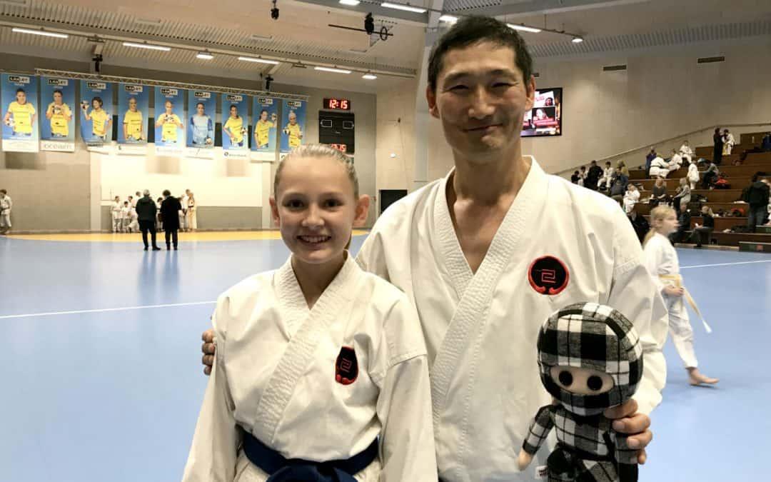 30 lokale karateudøvere og en ninja til Gasshuku