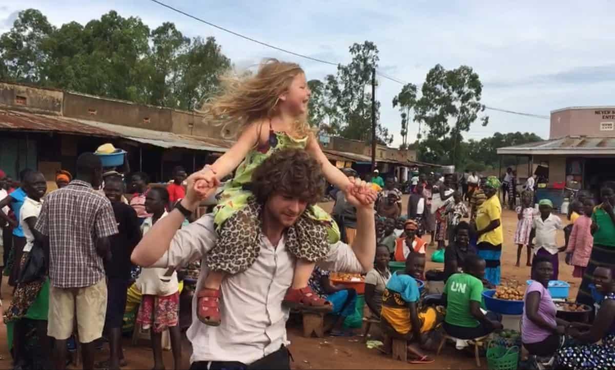 Foredrag i Kulturarkaden i Vordingborg om dansk families eventyr i Uganda