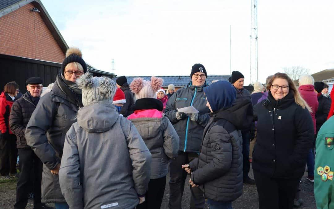 Mere end 200 deltog i Julemærkemarchen i Vordingborg søndag d. 1. december 2019